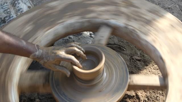 pottery making - pottery stock videos and b-roll footage