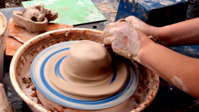 pottery - drawing artistic product stock videos & royalty-free footage