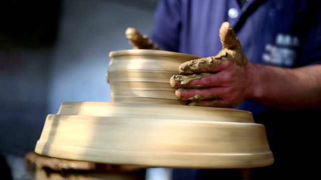 pottery - potter stock videos & royalty-free footage