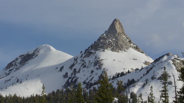 potty peak in yosemite national park - californian sierra nevada stock videos & royalty-free footage