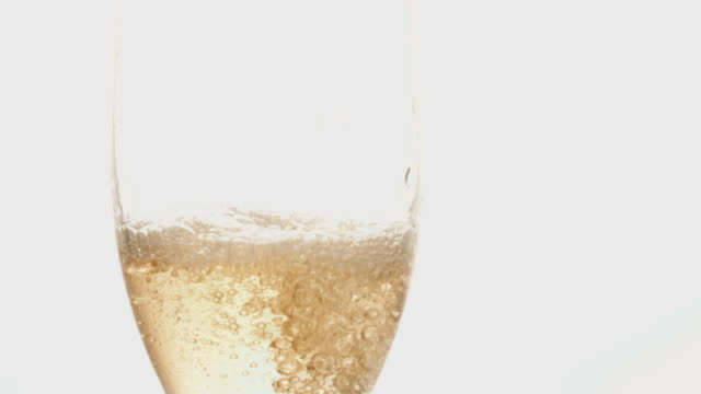pouring a glass of champagne - champagne stock videos & royalty-free footage
