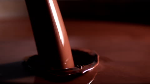 pouring chocolate - chocolate stock videos & royalty-free footage