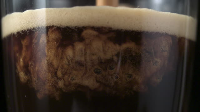 pouring coffee. mixing layers - coffee drink stock videos & royalty-free footage