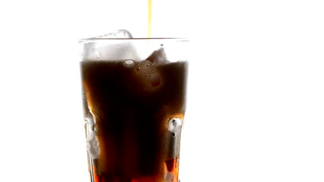 pouring cola - carbonated drink stock videos & royalty-free footage