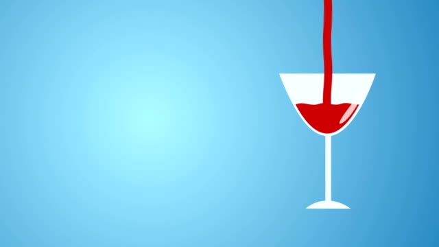 animazione di pouring drink - happy hour video stock e b–roll