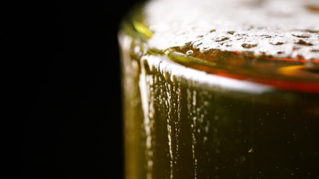 pouring fresh beer - lager stock videos & royalty-free footage
