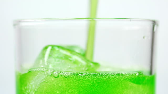 pouring soft drink green apple - juice drink stock videos & royalty-free footage