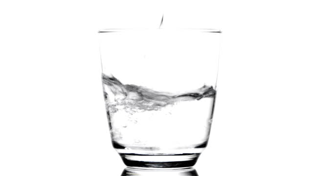 pouring water into a glass - drinking glass stock videos & royalty-free footage