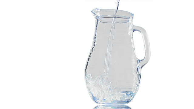 hd: pouring water - pitcher jug stock videos & royalty-free footage