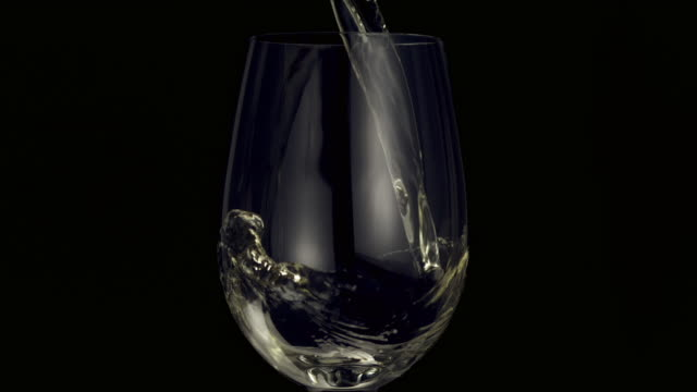 pouring white wine - white wine stock videos & royalty-free footage