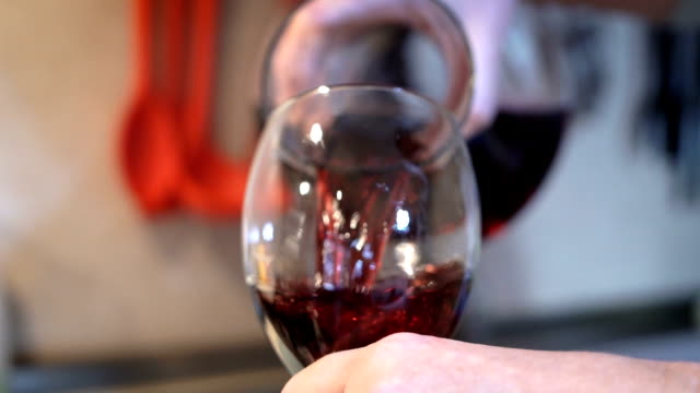 pouring wine into a glass-super slow motion - winemaking stock videos & royalty-free footage