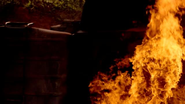 Pov : Burning Truck