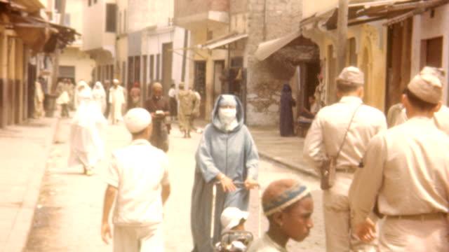 poverty in casablanca wwii on may 15, 1945 in casablanca, morocco - religion stock videos & royalty-free footage