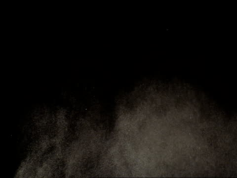 powder explosion in slow motion variation  7 - dust stock videos & royalty-free footage