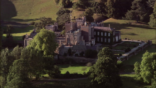 powderham castle - devon stock videos and b-roll footage