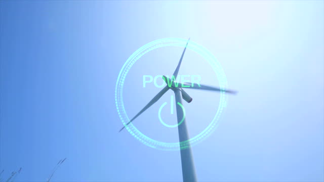 Power button and Wind turbine