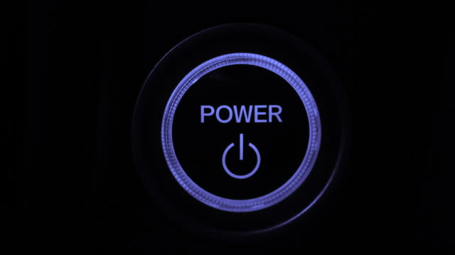 power button - electronics industry stock videos & royalty-free footage