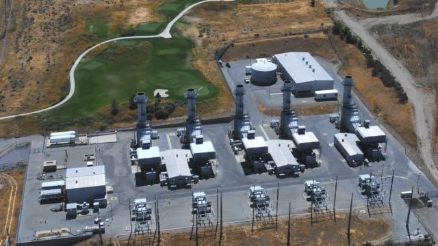 vídeos y material grabado en eventos de stock de instalación de generación de energía - power in nature