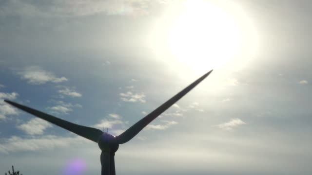 Power generating wind turbines