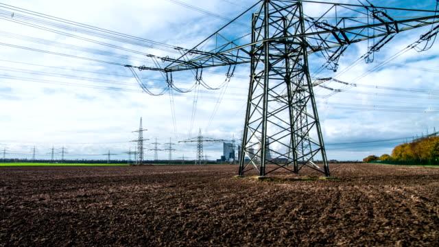 vídeos y material grabado en eventos de stock de leva de equilibrio: línea de alimentación - suministro de energía