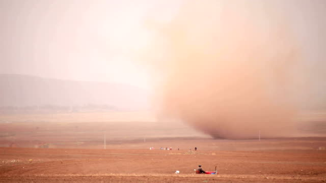 power of nature - sandstorm stock videos & royalty-free footage