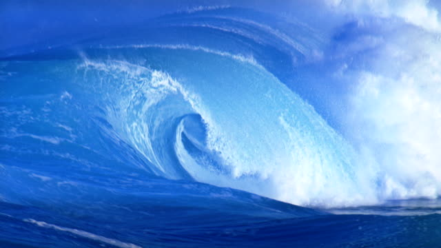 power of nature - tsunami stock videos & royalty-free footage