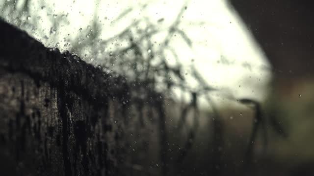 vidéos et rushes de puissance de la pluie - fantôme