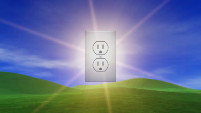 power outlet from the sun - plug socket stock videos and b-roll footage