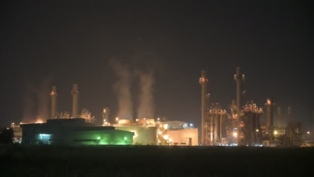 power plant in the sunrise - power station stock videos & royalty-free footage