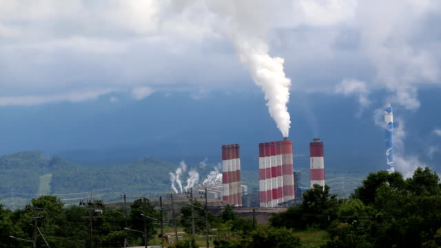 power plant station in thailand - biological process stock videos & royalty-free footage