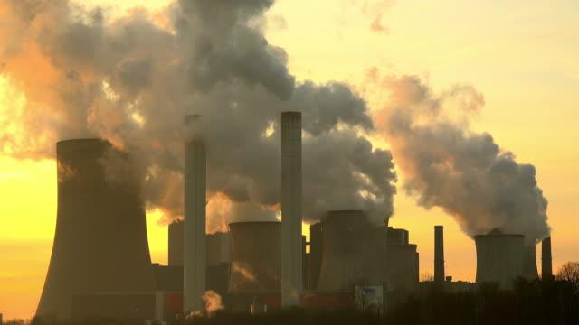 power plant - north rhine westphalia stock videos & royalty-free footage