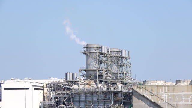 power plant - cooling tower stock videos & royalty-free footage