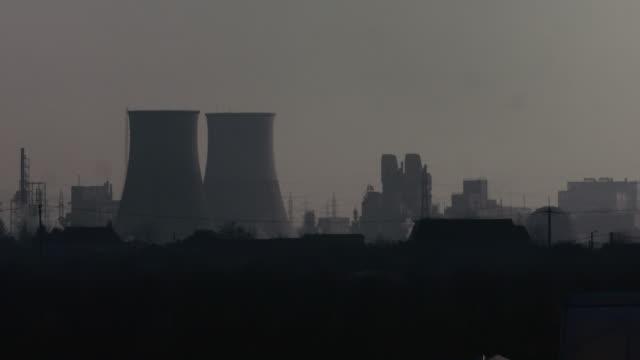 power plant - romania stock videos & royalty-free footage