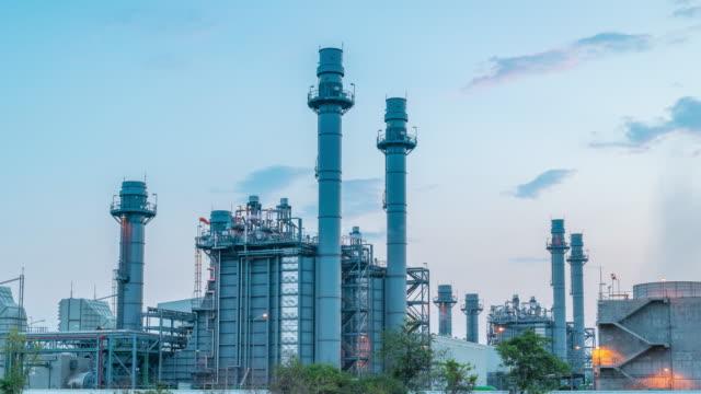 vidéos et rushes de power plant - gaz naturel