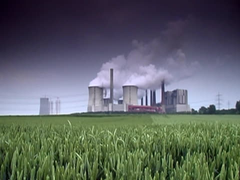 ntsc: power plant - vapour trail stock videos & royalty-free footage