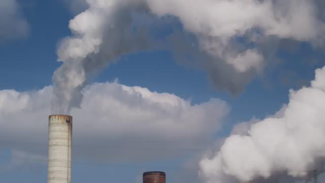power plant - film tilt stock videos & royalty-free footage