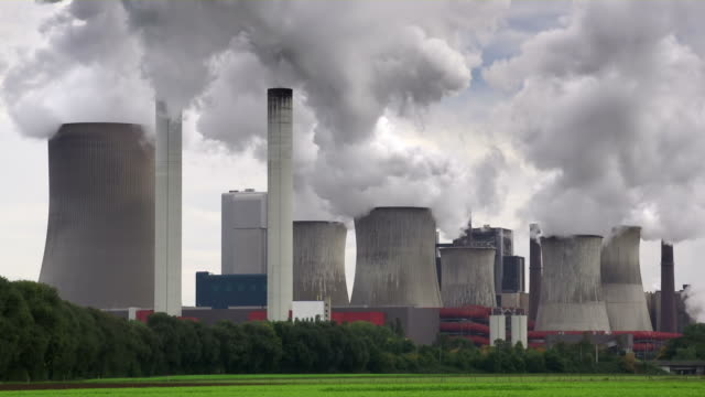 power plant - coal stock videos & royalty-free footage