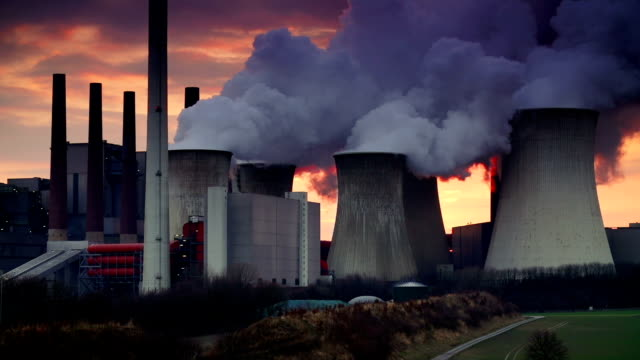 power plant - coal fired power station stock videos & royalty-free footage