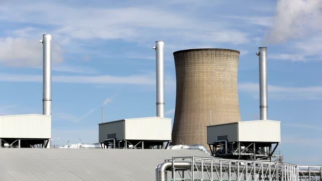 power plant - fuel and power generation bildbanksvideor och videomaterial från bakom kulisserna