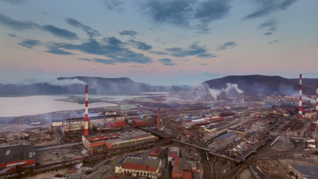 power plants and smokes - coal fired power station stock videos and b-roll footage