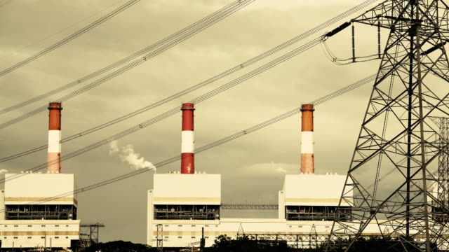 power plants - industrial district stock videos & royalty-free footage