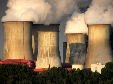 ntsc: power station - carbon monoxide stock videos & royalty-free footage