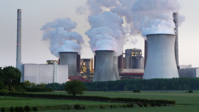 power station - coal fired power station stock videos and b-roll footage