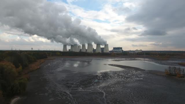power station - kraftwerk stock-videos und b-roll-filmmaterial