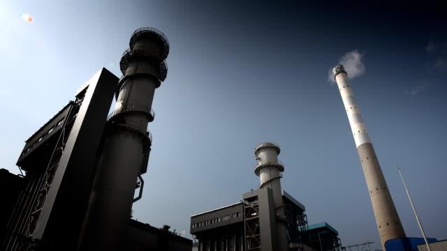発電所  - 発電所点の映像素材/bロール