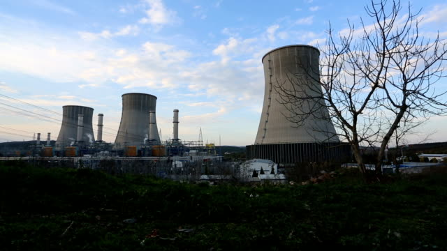 power station - nuclear power station stock videos & royalty-free footage
