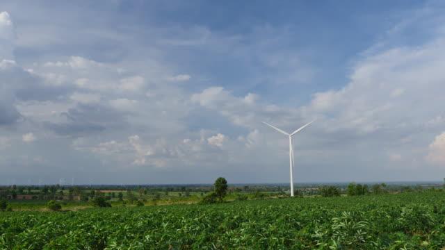 Power wind turbine.
