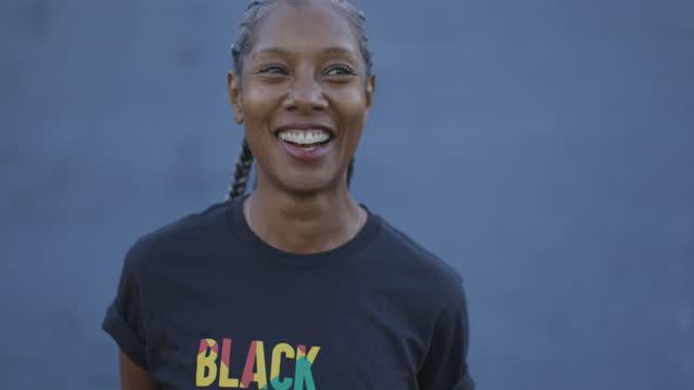 powerful black woman - serene people stock videos & royalty-free footage