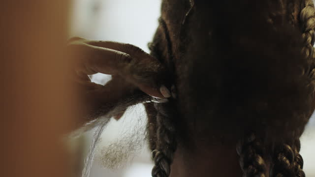 powerful black woman - braided hair stock videos & royalty-free footage