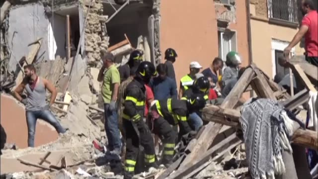 A powerful predawn earthquake devastated mountain villages in central Italy on Wednesday eaving at least 38 people dead and dozens more injured...